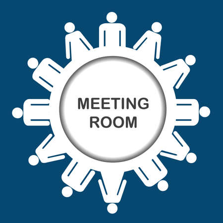 meeting room: Meeting room icon