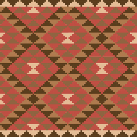 Ethnic carpet design