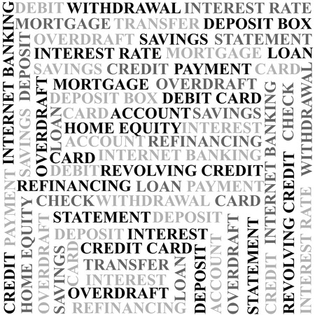 refinancing: Banking terms background