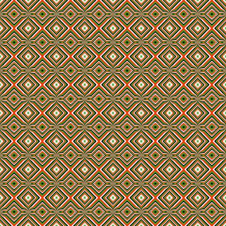 seamless: Seamless decorative geometrical motifs Illustration