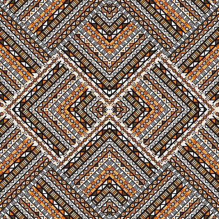 ethno: Ethno patchwork design Illustration