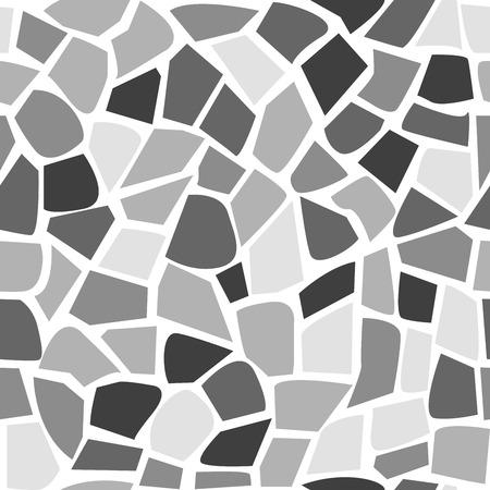 Abstract naadloos de steenpatroon van het mozaïekpatroon