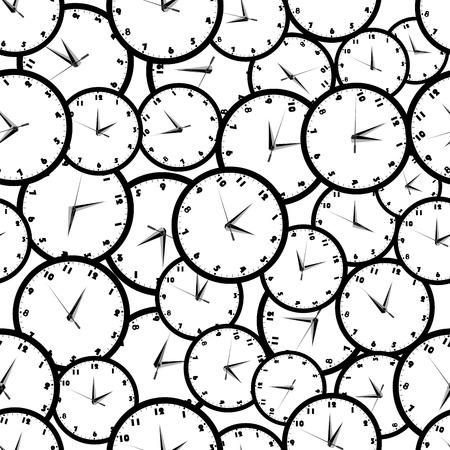 時計とのシームレスなパターン