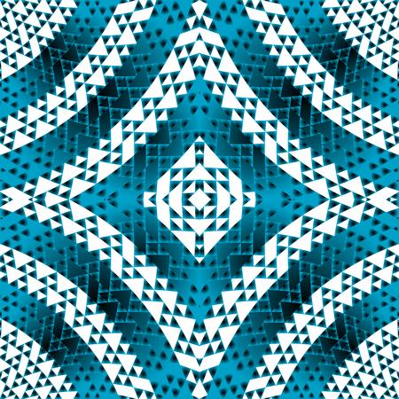 forme geometrique: Bleu formes géométriques fond