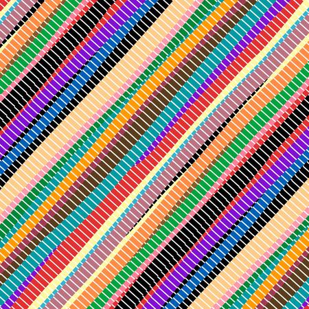 Colored handmade  carpet