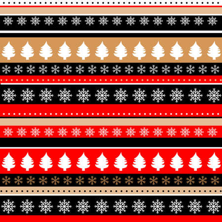 Christmas symbols background for web, wallpaper, wrapping paper, packaging,gifts and decorations. Ilustrace