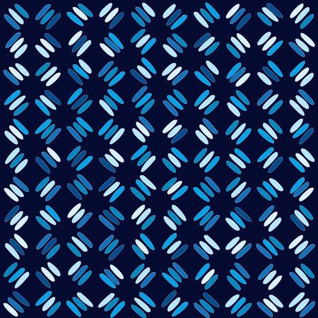 Blue geometric oblique stick lines background