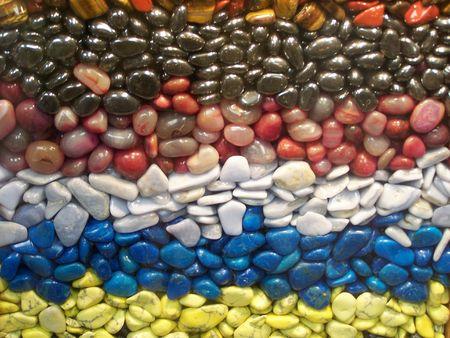 polished: polished pebbles background