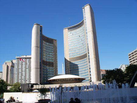 toronto city hall, downtown Stock Photo