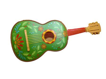 Decorative Guitar Reklamní fotografie