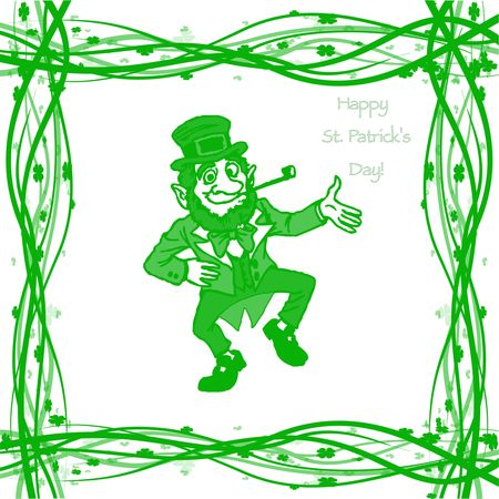 17th: March 17th, St. Patricks Day Stock Photo