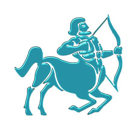 astrology symbol sagittarius Stock Photo - 9868041