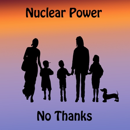 Nuclear Power protest