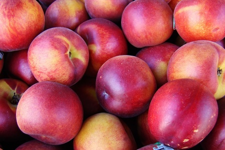 fresh organic nectarines