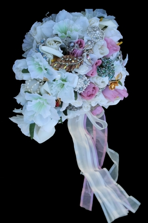 Bridal Bouquet Isolated  Stock Photo