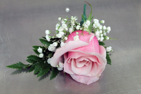 rose boutonniere Stock Photo - 25768540