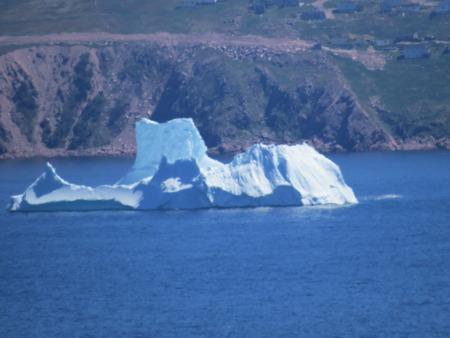 floe: floating iceberg