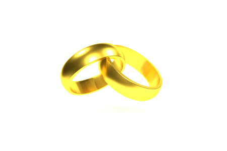 vows: golden rings