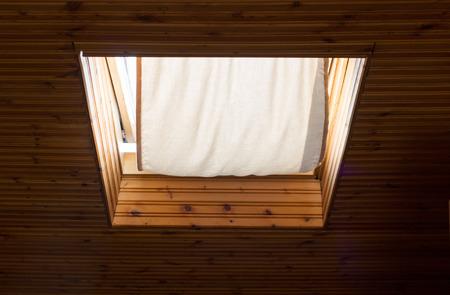 attic window: Attic window