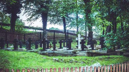 Old monastery graveyard