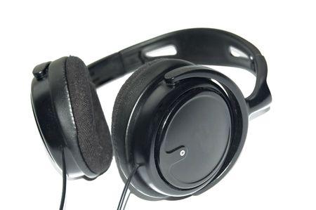 black headphones Stock Photo - 5086808
