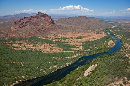 gunsight: Red Mountain and Salt River Recreation Area