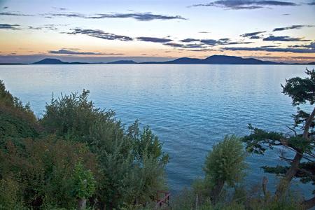 Sunset on the Straits of Juan De Fuca