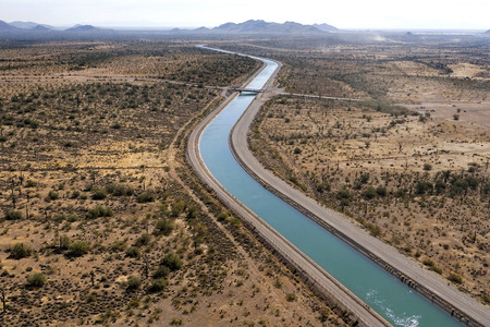 counties: Central Arizona Project CAP is designed to bring about 1.5 million acre-feet of Colorado River water per year to Pima, Pinal and Maricopa Counties