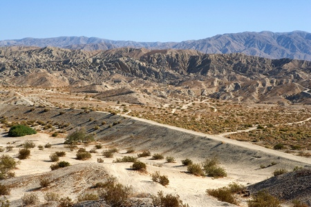 Indio Hills in Southern California