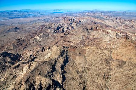The Black Mountains near the Colorado River