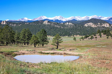 Watering Hole on the Colorado Range