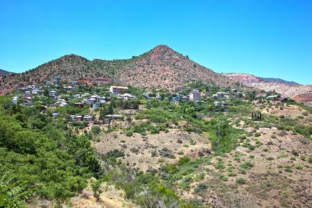 mining town: Historic mining town of Jerome, Arizona