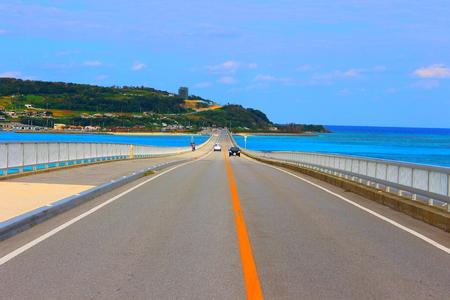 Bridge on the sea Stok Fotoğraf