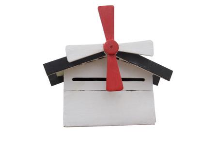 await: white mailbox