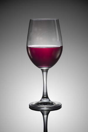 cranberry fruit: Red cranberry fruit drinks in glass Stock Photo