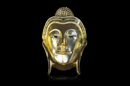 cabeza de buda: Buda cabeza  Foto de archivo