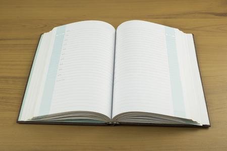 bibliophile: Book on a wooden desk