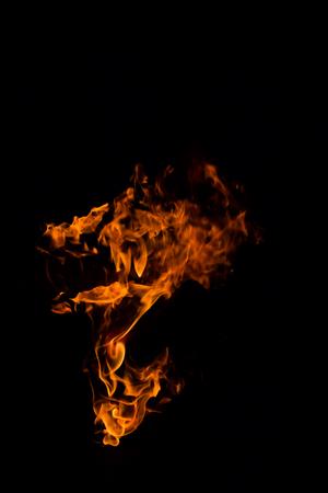 blazing: fire blazing