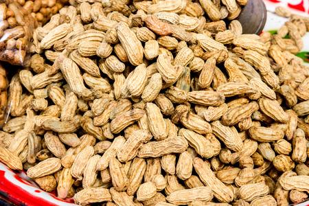 goober peas: peanut Stock Photo