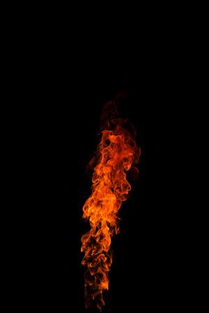 flames: fire