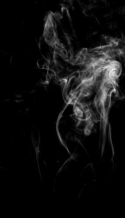 cigar shape: white smoke