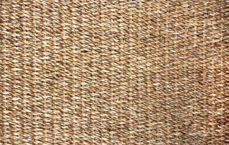 rattan mat: wickerwork
