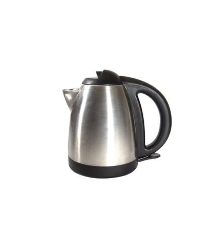 metal kettle Stock Photo