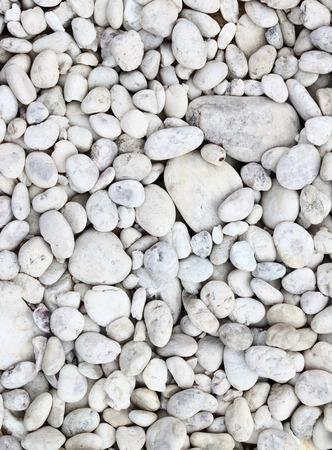 white stones: White stone background (texture) Stock Photo