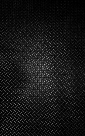 diamante negro: Placa de acero