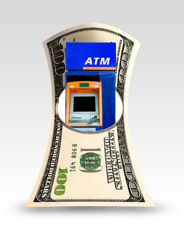 machine: ATM machine Stock Photo