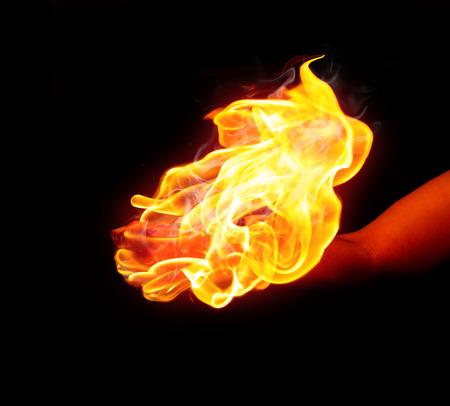 resplandor: Mano de fuego