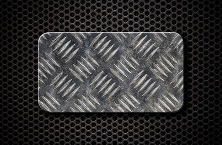 grate: metal plate over comb grate