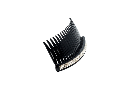 comb hair: Hair Comb isolated on white,plastic comb