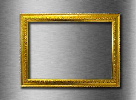gold frame 免版税图像